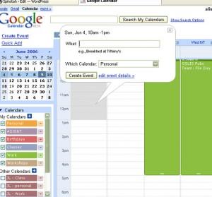 google calendar productivity