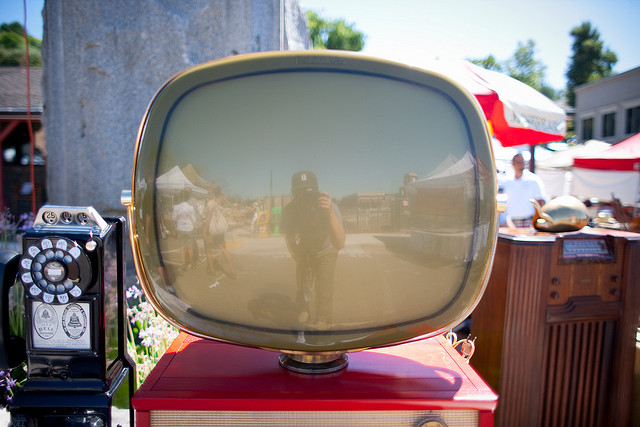 antique tv