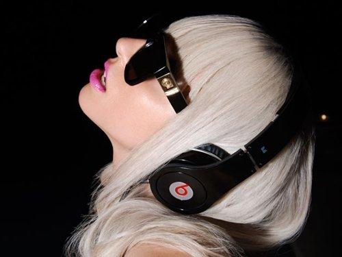 lady gaga headphones