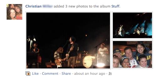 new facebook photos newsfeed