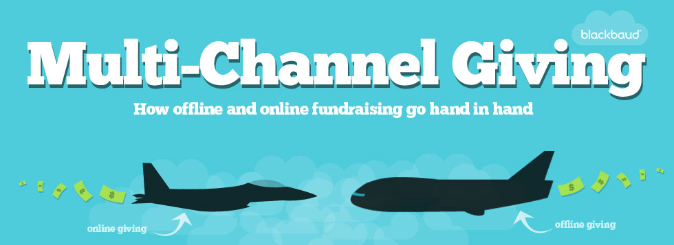 multi-channel giving infographic