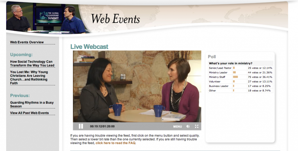 Charlene Li Willow Creek Webinar
