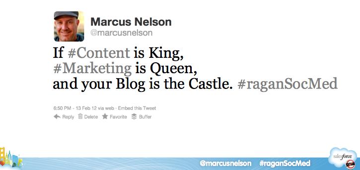 salesforce blogging quote