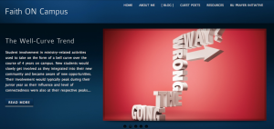 Faith on Campus Homepage