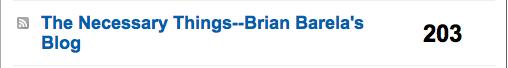 Brian Barela RSS--brianbarela.com
