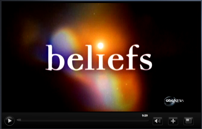 Beliefs ABC News Video