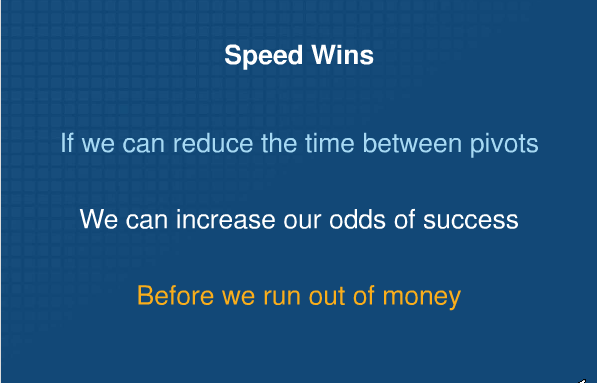 Speed wins eric ries