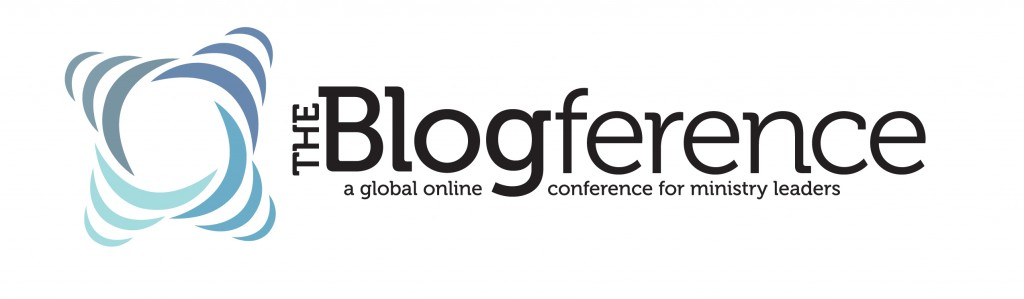 the blogference logo